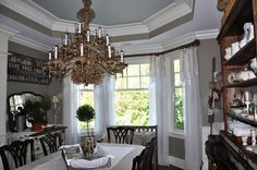 Serendipity Refined Blog: House Tour dining room colors