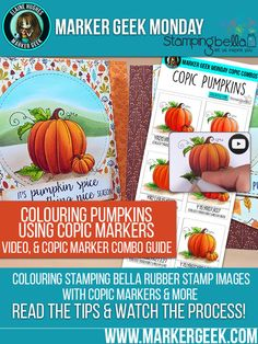 Stamping Bella Pumpkins Card Making Inspiration. Click through to read the post…