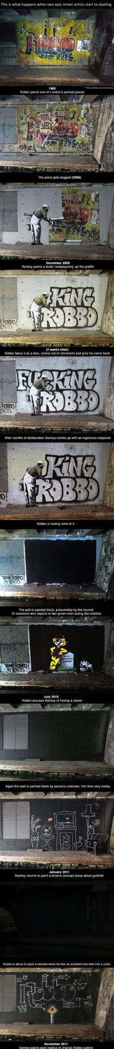 Banksy vs Robbo - Win Pictures | Webfail - Fail Pictures and Fail Videos