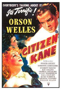 'Quarto potere', regia di Orson #Welles (1941)