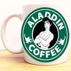Assorted Coffee Disney Ariel Mermaid Logo Decal By