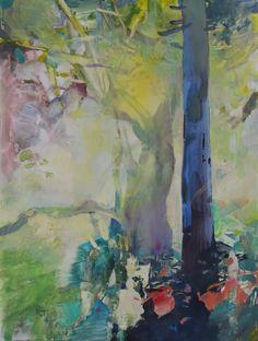 Painter's Process - Randall David Tipton: Winter Rainforest Study