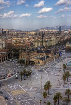 What a view of Barcelona! devourbarcelonafoodtours.com