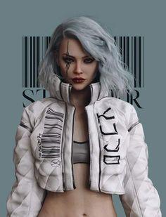 Cyberpunk Mode, Cyberpunk Kunst, Cyberpunk Girl, Cyberpunk Aesthetic, Cyberpunk Fashion, Cyberpunk 2077, Filles Punk Rock, Character Inspiration, Character Art