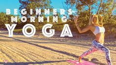 Beginner Yoga ♥ Easy Morning Yoga For A Positive Mind This is a five minute easy morning yoga flow for beginners that will focus on waking up your body, your mind, and allowing you to start your day in a positive way. Morning Yoga Sequences, Morning Yoga Flow, Morning Yoga Routine, Namaste Yoga, Yoga Meditation, Senior Fitness, Yoga Fitness, Yoga For Beginners, Beginner Yoga