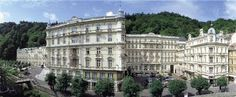 Grand Hotel Pupp. Karlovy Vary, Czech Republic. Yes, the one in the movie Last Holiday Queen Latifah was in.
