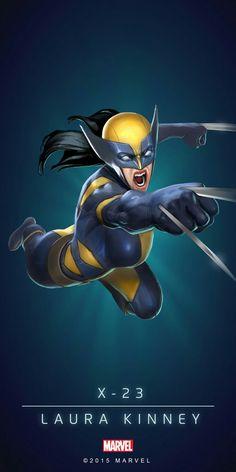 X-23 / Laura Kinney #Marvel #X-Men