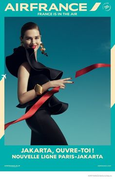 Air France Launches New Stylish Poster Campaign by Sofia & Mauro