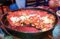 Pequod's Pizza - Favorite place to eat in Lincoln Park!
