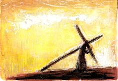 April 8 — The Falls Church Anglican art painting jesus Christian Drawings, Christian Paintings, Christian Artwork, Christian Images, Easter Paintings, Cross Paintings, Jesus Painting, Jesus Art, Cross Art