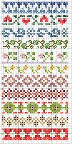 Thrilling Designing Your Own Cross Stitch Embroidery Patterns Ideas. Exhilarating Designing Your Own Cross Stitch Embroidery Patterns Ideas. Fair Isle Knitting Patterns, Knitting Charts, Loom Patterns, Knitting Stitches, Beading Patterns, Embroidery Patterns, Sock Knitting, Paper Embroidery, Knitting Machine