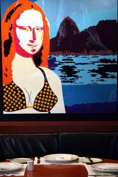 Mona Lisa in Rio