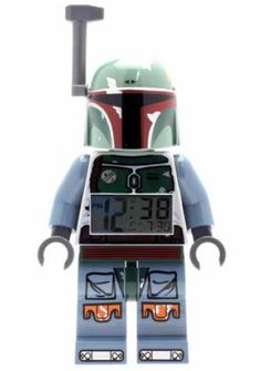 Lego Star Wars Wecker Boba Fett