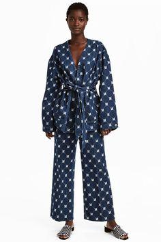 Denim trousers - Blue - Ladies | H&M GB 1