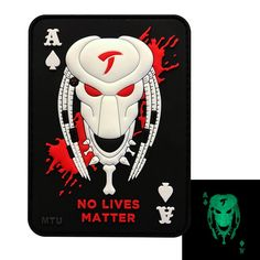 Patches Tactical PVC Punisher Death Card Morale Ace of Spades Patch Titan One Europe Gifts & Merchandise