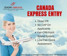 Live and work in Canada send us your CV admin@zoomabroad.com