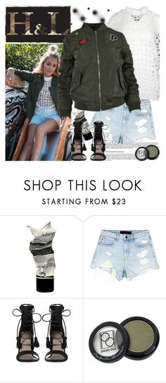 """""""H&L - Bomber Jacket (hlfashions.com)"""" by gaby-mil ❤ liked on Polyvore featuring Aesop, Alexander Wang, Zimmermann, Paula Dorf, bomberjacket, HL and hlfashions"""