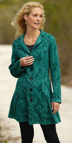 Tapestry jacket.