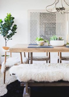 10 Tell-Tale Signs that Your Home Style Is: Organic Modern  -   10. You don't so much have a dog as a sheepskin.