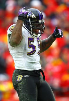 terrell suggs · baltimore ravens