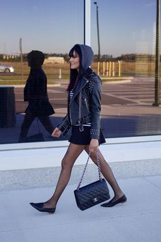 A parisian in America by Alpa R | Orlando Fashion Blogger: Biker Chic