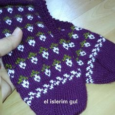 Fair Isle Knitting, Knitting Socks, Moda Emo, Diy And Crafts, Photo And Video, Crochet, Creative, Instagram Posts, Followers