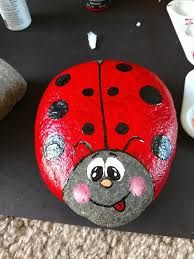 garden types ideas and garden types yards 55 Ladybug Painted Rocks Ideas Rock Painting Patterns, Rock Painting Ideas Easy, Rock Painting Designs, Paint Designs, Pebble Painting, Pebble Art, Stone Painting, Lady Bug Painted Rocks, Painted Rocks Kids