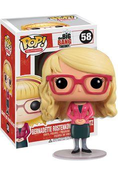 Bernadette Rostenkowski Pop 10cm Figurine The Big Bang Theory