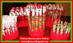 Dulces Kioscos Para Fiestas  KIOSCO EXPRÉS DE MANNY A LA OBRA cakepins.com
