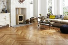 The Coveted Wooden Floor Without the Maintenance