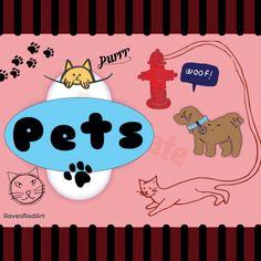 #pinterest board #pets #cats #dogs #animals #ravenmadart #madewithstudio