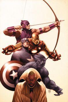 The Men of the Avengers
