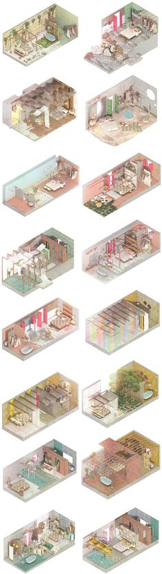 I was glad to participate in this exciting projectwith Izaskun Chinchilla Architects where we developed a project to turn an oldhamlet located in Ibiza inland into an Eco Resort where we looked for… Architecture Graphics, Architecture Drawings, Landscape Architecture, Architecture Design, Axonometric Drawing, Isometric Drawing, Architectes Zaha Hadid, Architecture Visualization, Concept Diagram