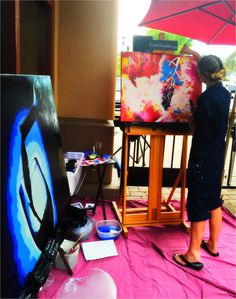 Painting Wine On The Vine Live At House Of Oliver Lounge Capturing