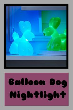Balloon Dog Nightlight #Kids #baby #homedecor #ad #gift