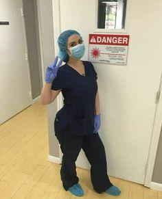 Beautiful Nurse, Dentists, Nurses, Gloves, Masks, Medical, Cute, Fashion, Moda