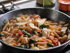 Chicken Florentine Pasta from FoodNetwork.com