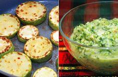 Originálne predjedlo z cukety, cesnaku a byliniek - Receptik.sk Guacamole, Zucchini, Delish, Paleo, Vegan, Vegetables, Ethnic Recipes, Food, Interiors