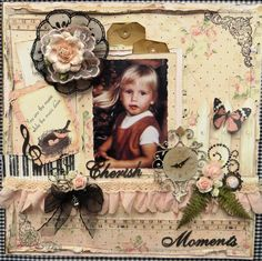 Scrap Sels from Lean: Cherish Moments..with Prima Marketing!