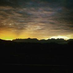 I love #capetown #myhome # sunrise #djlife