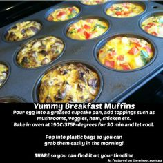 Easy and Convenient: Loaded Omelet Breakfast Muffins