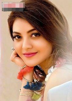 New image in kajal Beautiful Blonde Girl, Beautiful Girl Photo, Beautiful Girl Indian, Most Beautiful Indian Actress, Beauty Full Girl, Cute Beauty, Beauty Women, Beautiful Heroine, Kajal