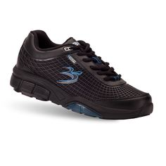 Check out these shoes from Gravity Defyer.  Men's FLEXNET ll Black Athletic Shoes | GravityDefyer.com