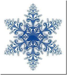 Snow Flakes Clip Art | snowflake clip art borders | animal pictures