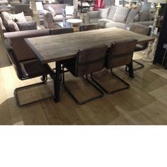 Barker and Stonehouse. Get dining table from clearance stock!
