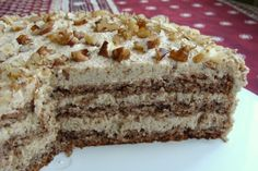 Polish Desserts, Polish Recipes, No Bake Desserts, Polish Food, Torte Cake, Fudge Cake, Different Cakes, Sweet Recipes, Cupcake Cakes