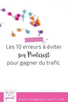 Pinterest peut être une source de trafic bien plus efficace que Facebook pour ton blog. Découvre les erreurs à ne pas faire pour gérer ton marketing Pinterest comme une pro et gagner des visiteurs #pinterestmarketing #pinteresttips #marketingtips #pinterest #blog #blogging #bloggingtips #astucesblogging #blogbyyourself #entrepreneur