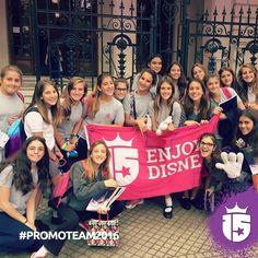 La Dante recibió al #promoTeam2016!! Tan sonrientes como siempre!!#Enjoy15 Enjoy Transatlántica!