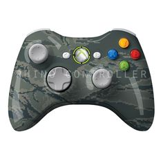 Custom XBOX 360 controller Wireless Glossy WTP-516-Tiger-Stripe-Military-Tiger-Stripe Custom Painted