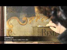 RESTAURACIÓN 13 LIENZOS APOSTOLADO ZAMORA 2013 - YouTube